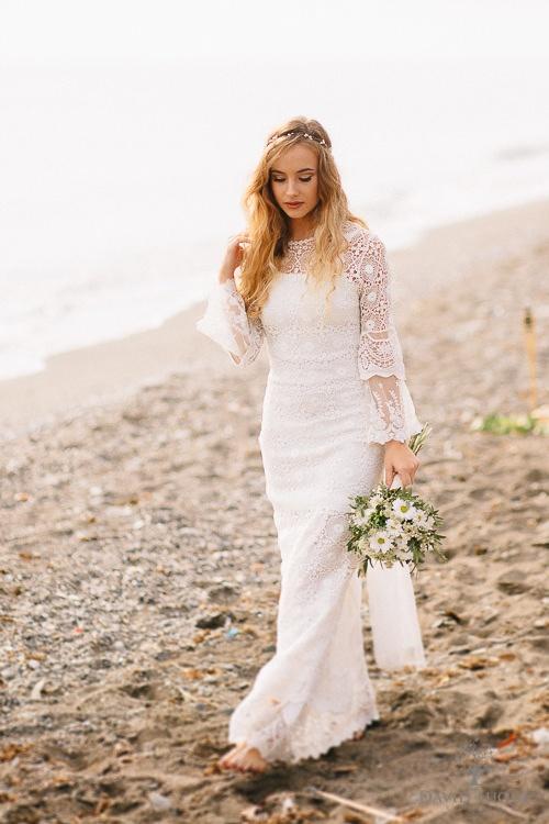 Vestidos de novia ibicencos malaga